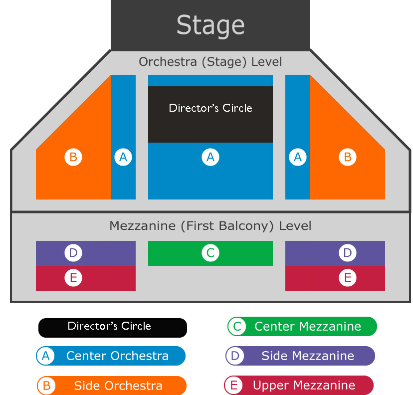 San Diego Ballet Spreckels Seating Chart